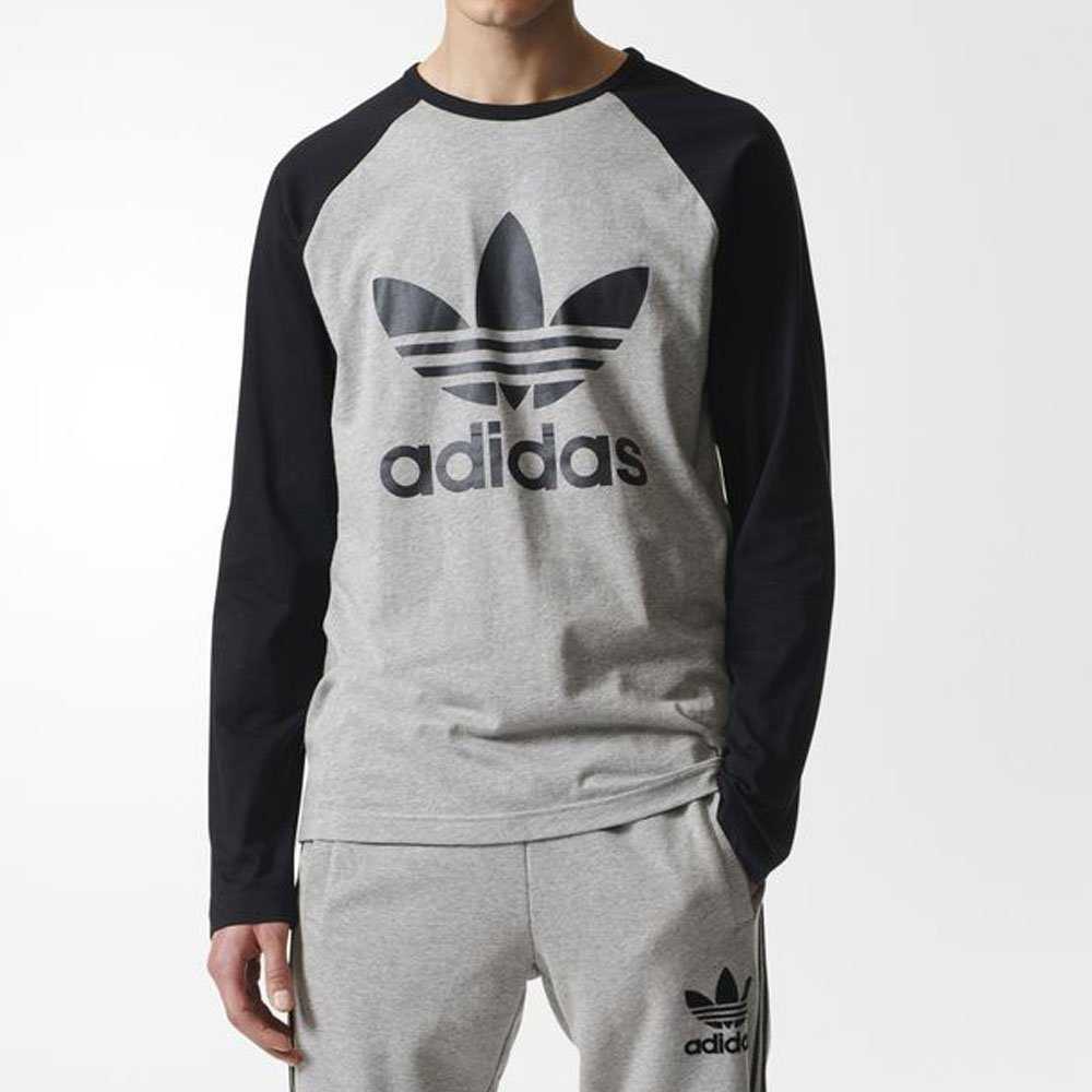 257fe488fce Camiseta Adidas Trefoil Ls Masculina Original