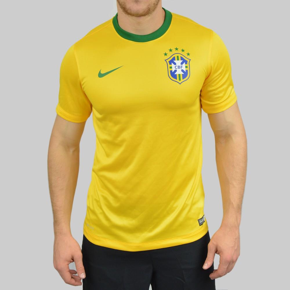 Camiseta Nike CBF Supporters Tee 575715-703 - Amarelo Verde ... 1195f448c6e74