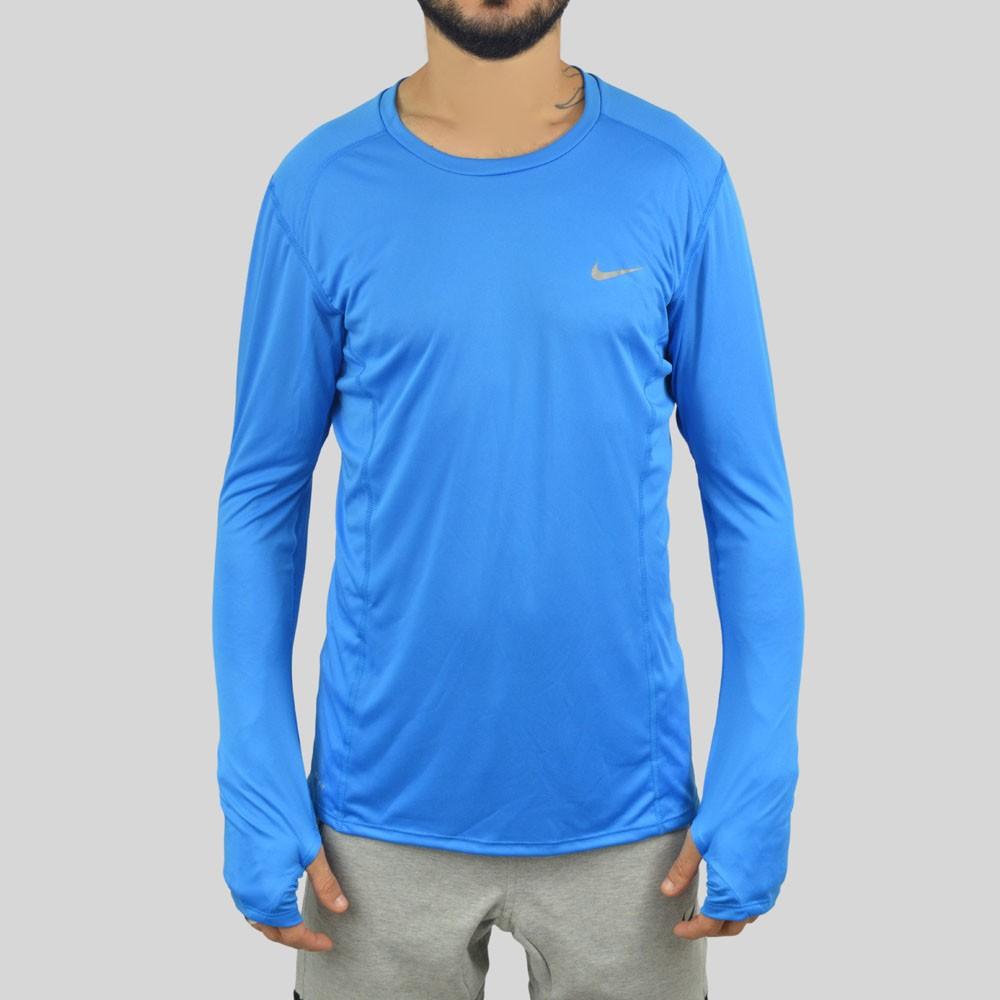 Camiseta Nike Manga Longa Dri-Fit Miller 3b68fd3763345