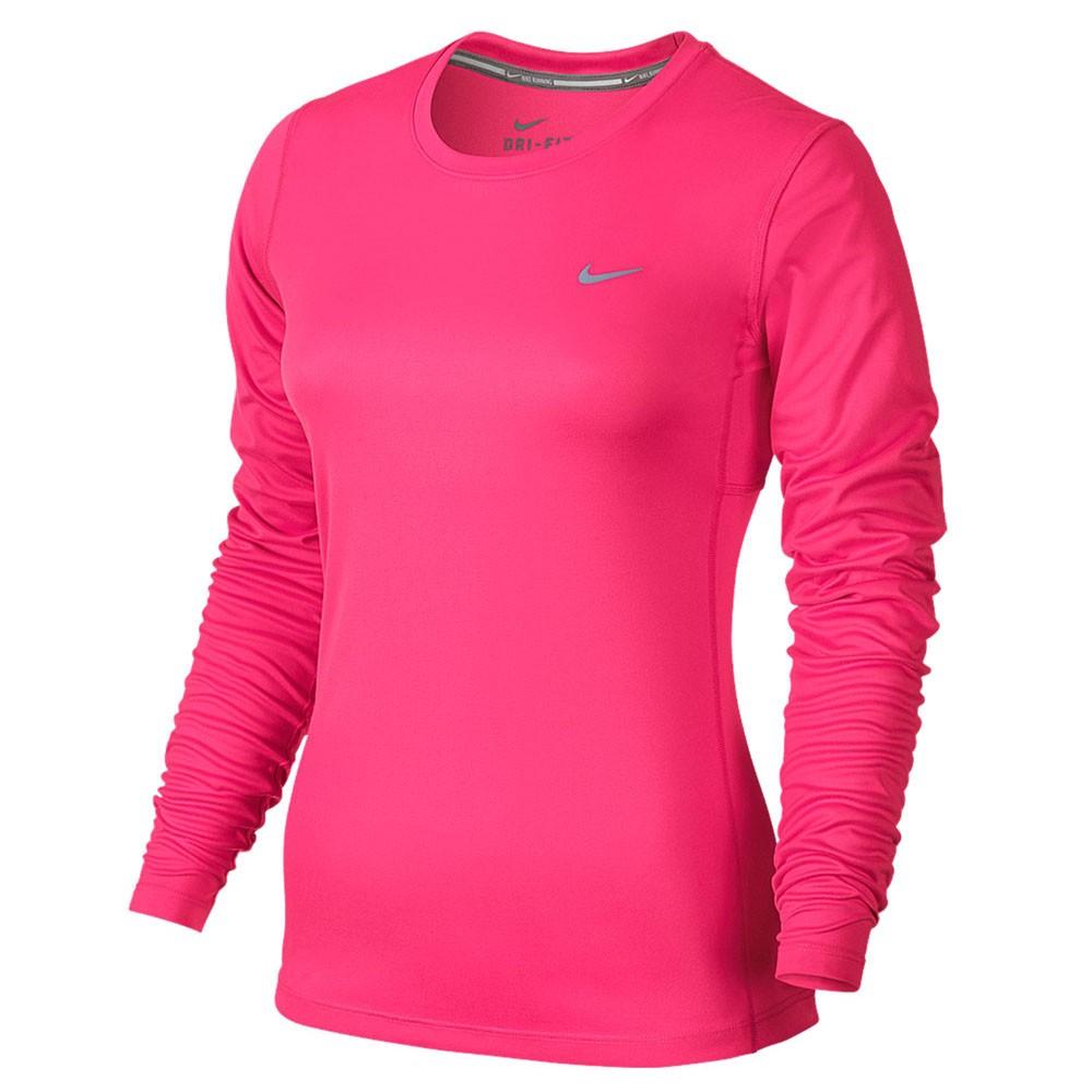 f5db89e390762 Camiseta Nike Manga Longa Miler Long