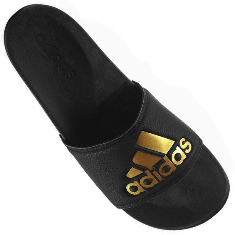 11666ff9675df Chinelo Adidas Adilette Gold M