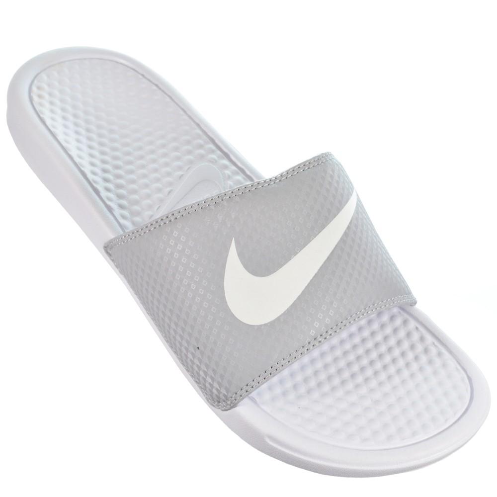 f1547576c6 Chinelo Nike Benassi Swoosh Slide