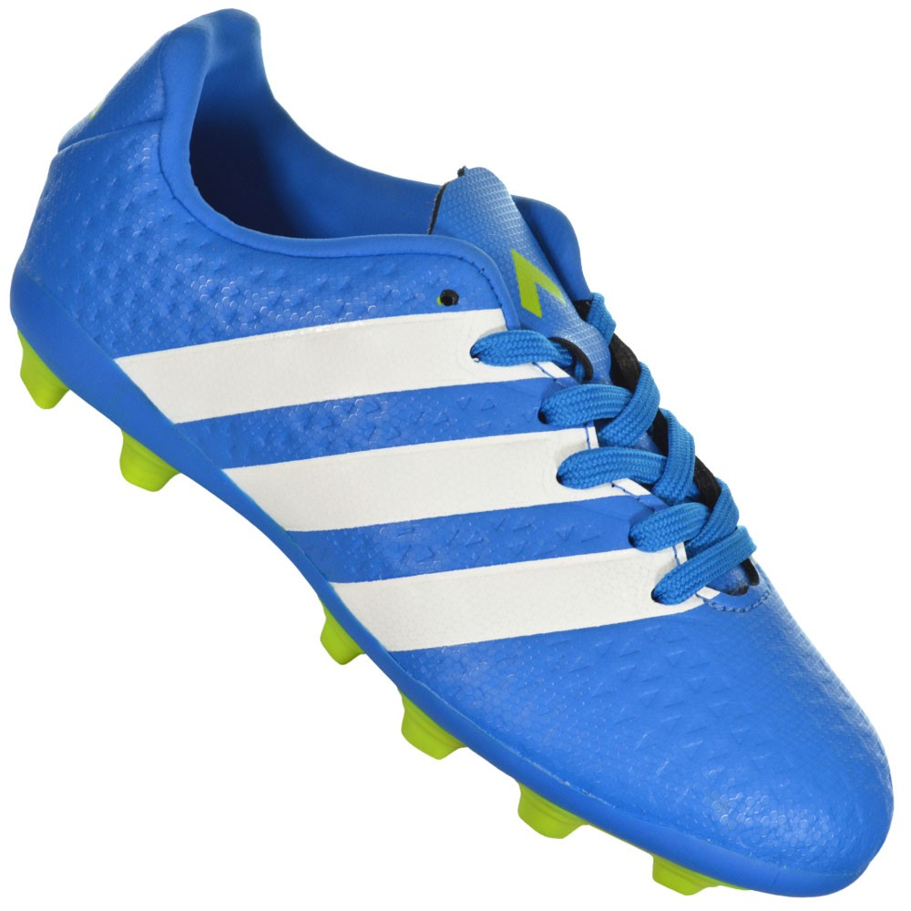 Chuteira Adidas Ace 16.4 FXG Junior 1dc918a62db75