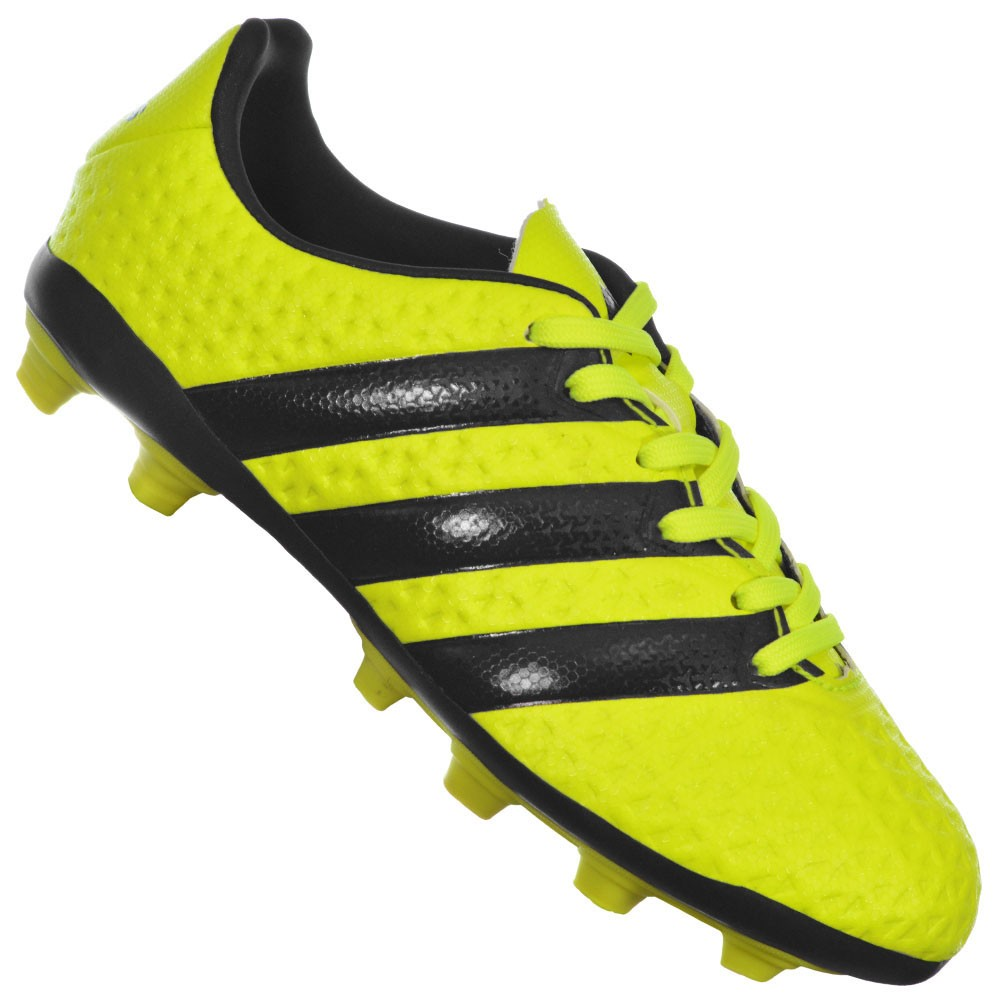Chuteira Adidas Ace 16.4 FXG Junior 1038ba83bb86e