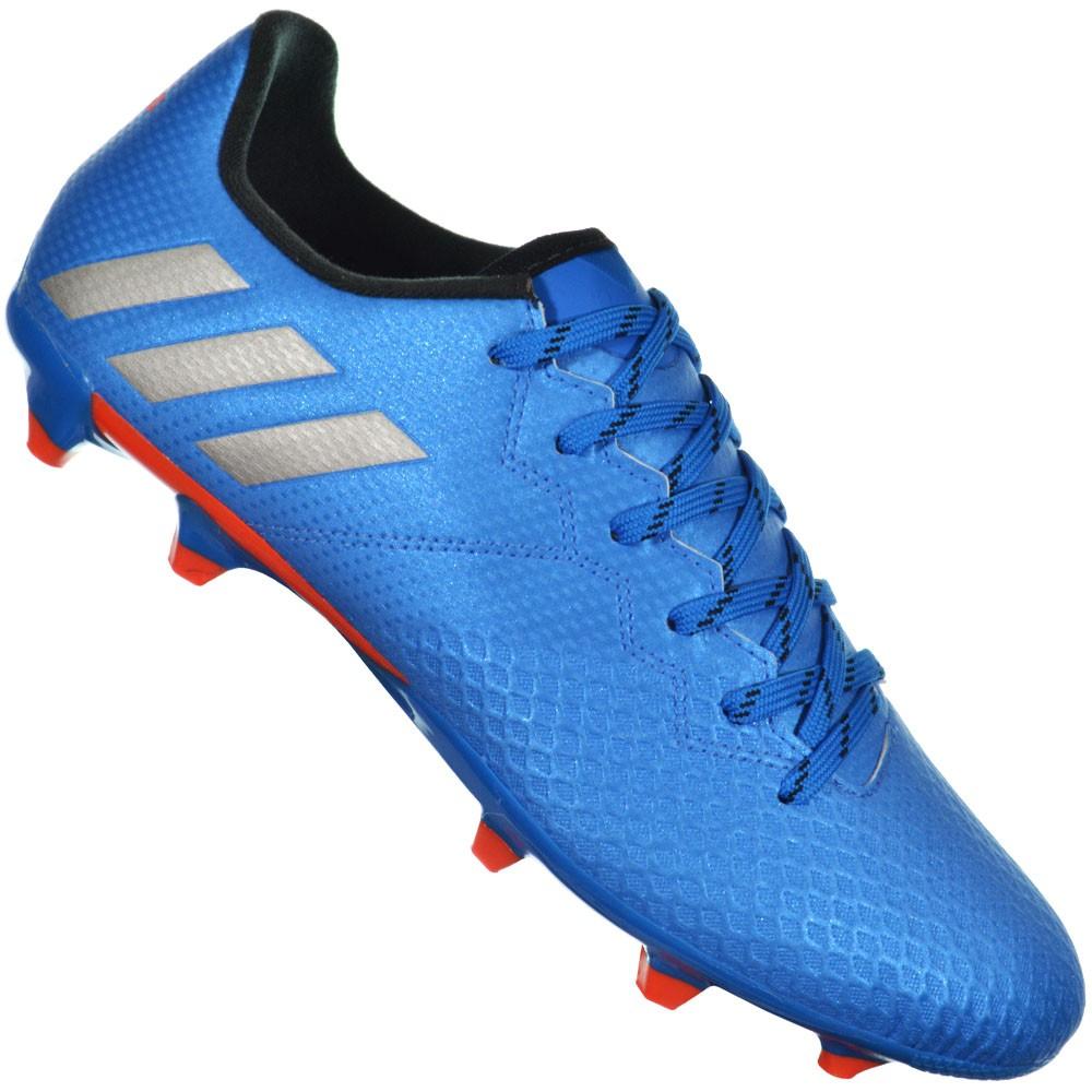 46ba0717e2b32 Chuteira Adidas Messi 16.3 FG