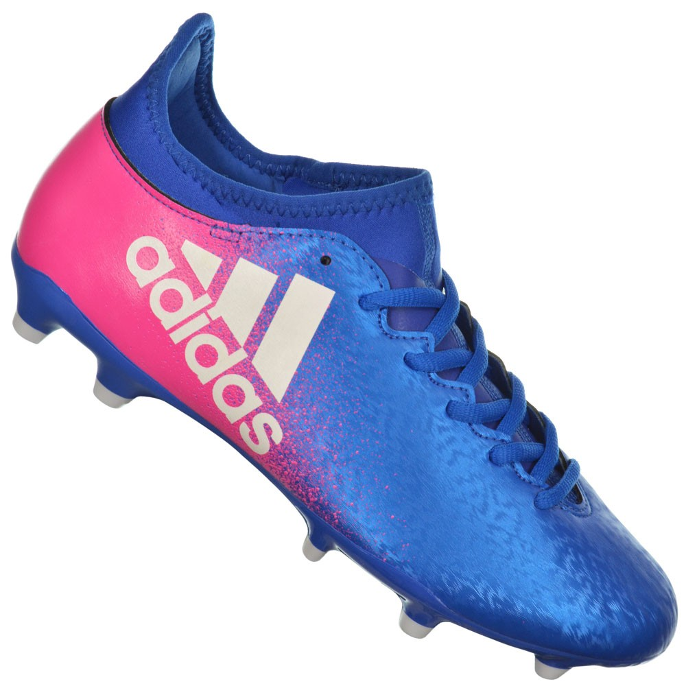 Chuteira Adidas X 16.3 FG bbd2cb5ec8262