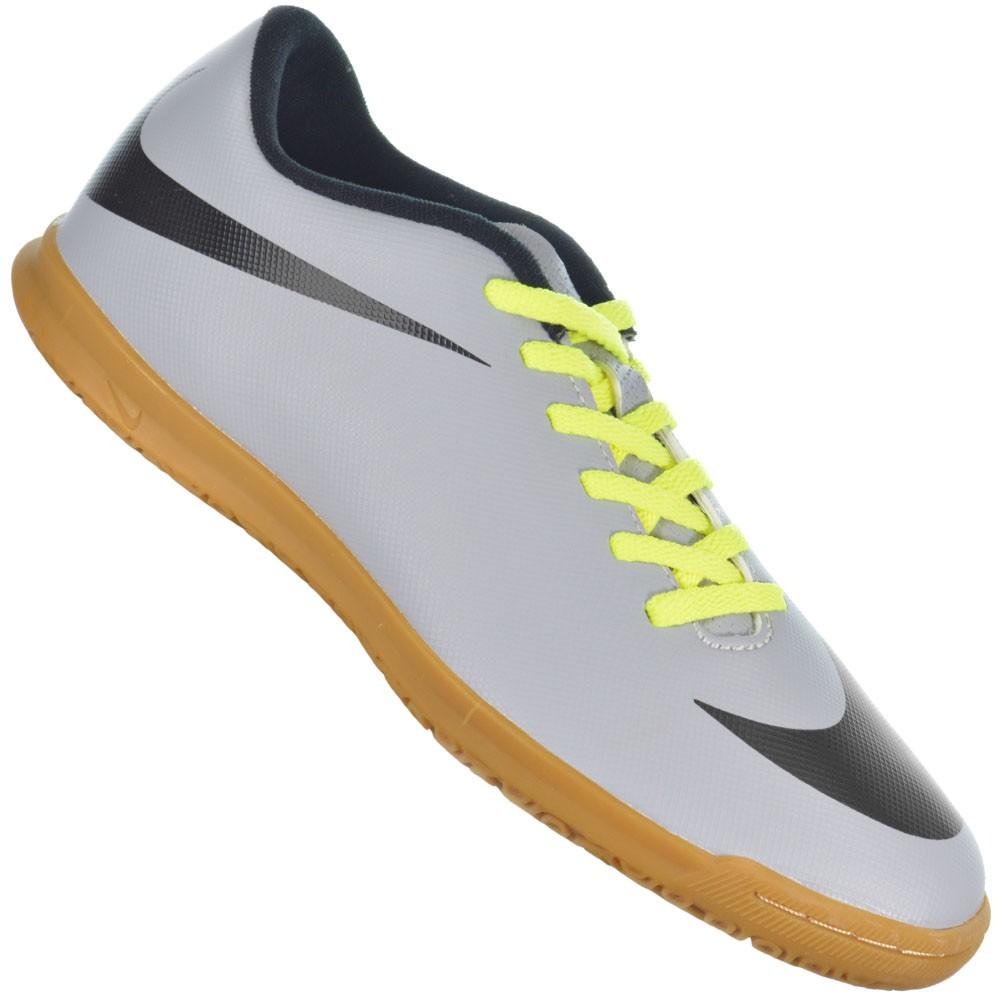 b9d533c85b Chuteira Nike Bravata IC 768924-007 - Cinza Verde - Atitude Esportes ...