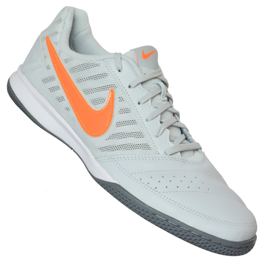 59dd9181a03 Chuteira Nike Gato II 580453-081 - Chumbo Laranja - Atitude Esportes ...