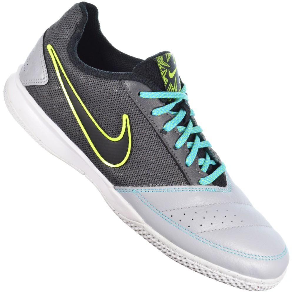 473ecaac5c Chuteira Nike Gato II 580453-002 - Cinza Preto - Atitude Esportes ...
