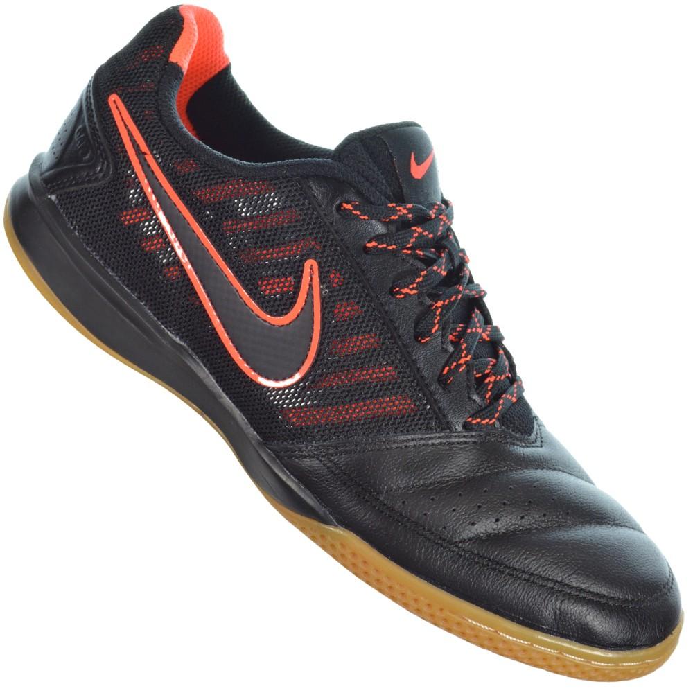 d15bbf2d6ea Chuteira Nike Gato II 580453-008 - Preto Laranja - Atitude Esportes ...