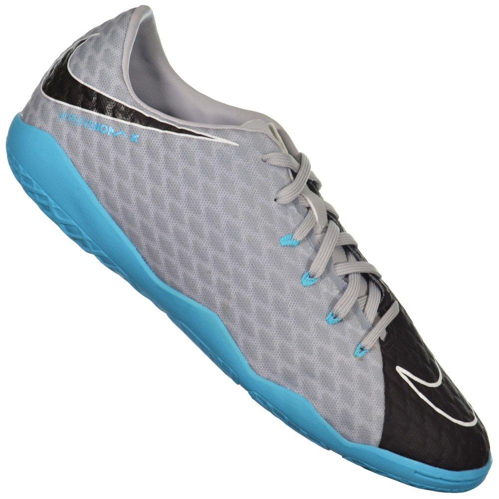 Chuteira Nike Hypervenom X Phelon III Indoor 0715909d17eb8