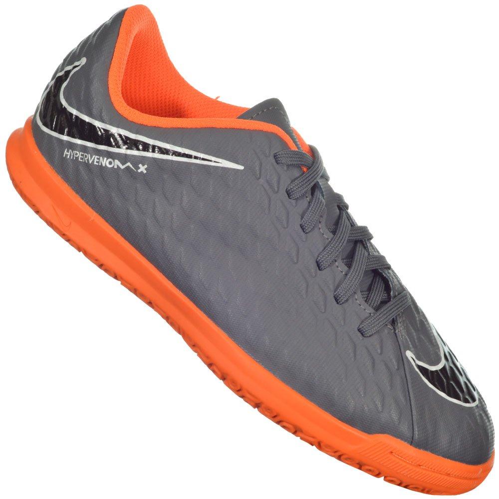 70c7fdb438f81 Chuteira Nike Hypervenomx III Club Futsal Jr Original