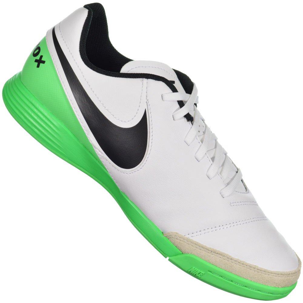 Chuteira Nike Tiempo Genio II Leather IC be36fecbbf151