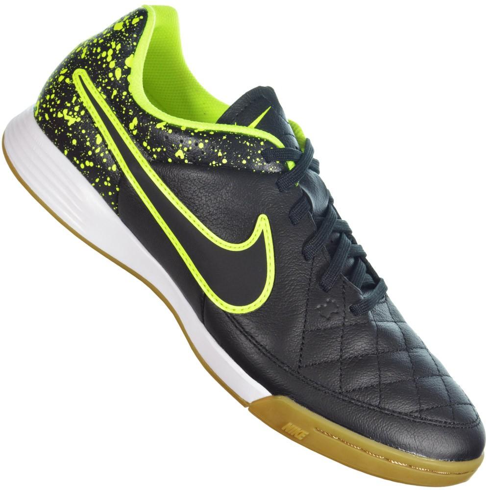 e4ed81196b3e1 Chuteira Nike Tiempo Gênio Leather IC