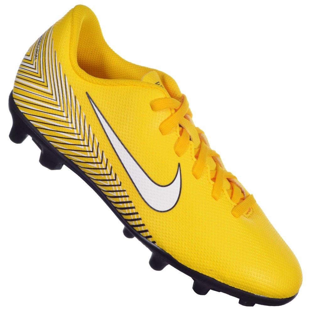8c3cdda6de050 Chuteira Nike Mercurial Vapor 12 Neymar Junior Infantil Campo Original