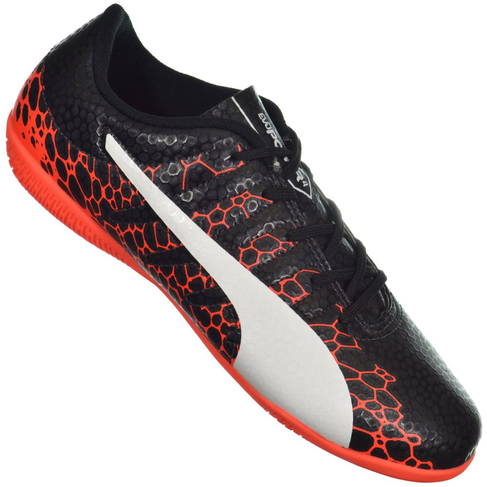 Chuteira Puma Evopower Vigor 4 Graphic Indoor Jr 9e92669778919
