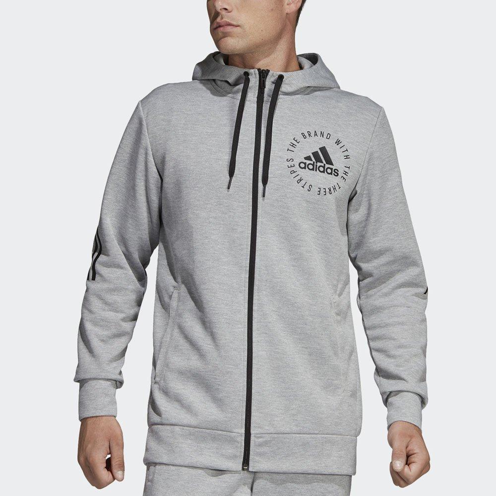08080a80607 Jaqueta Adidas Capuz Sport ID Original Masculino