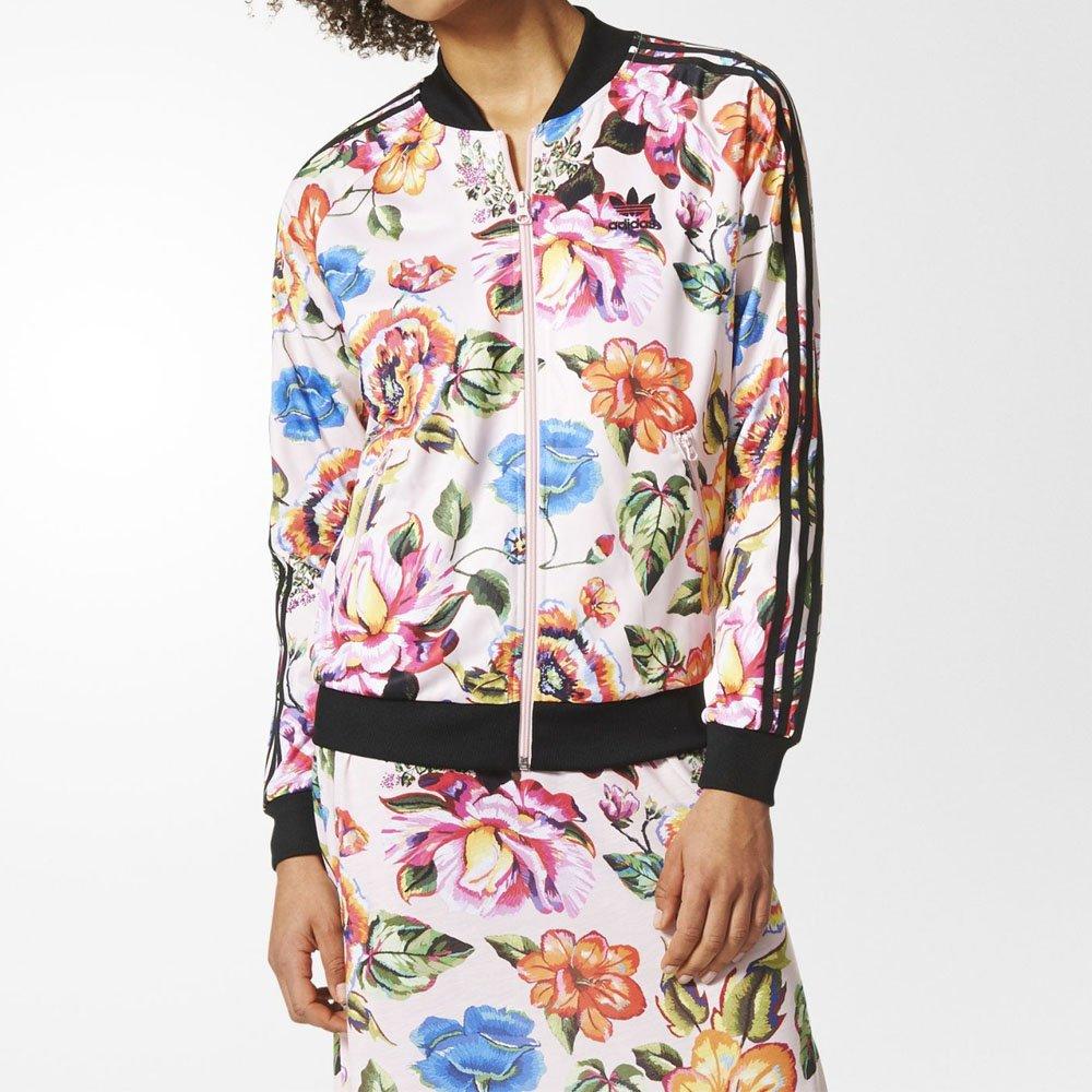 7687f55d2b1 Jaqueta Adidas Farm Floral Feminina Original