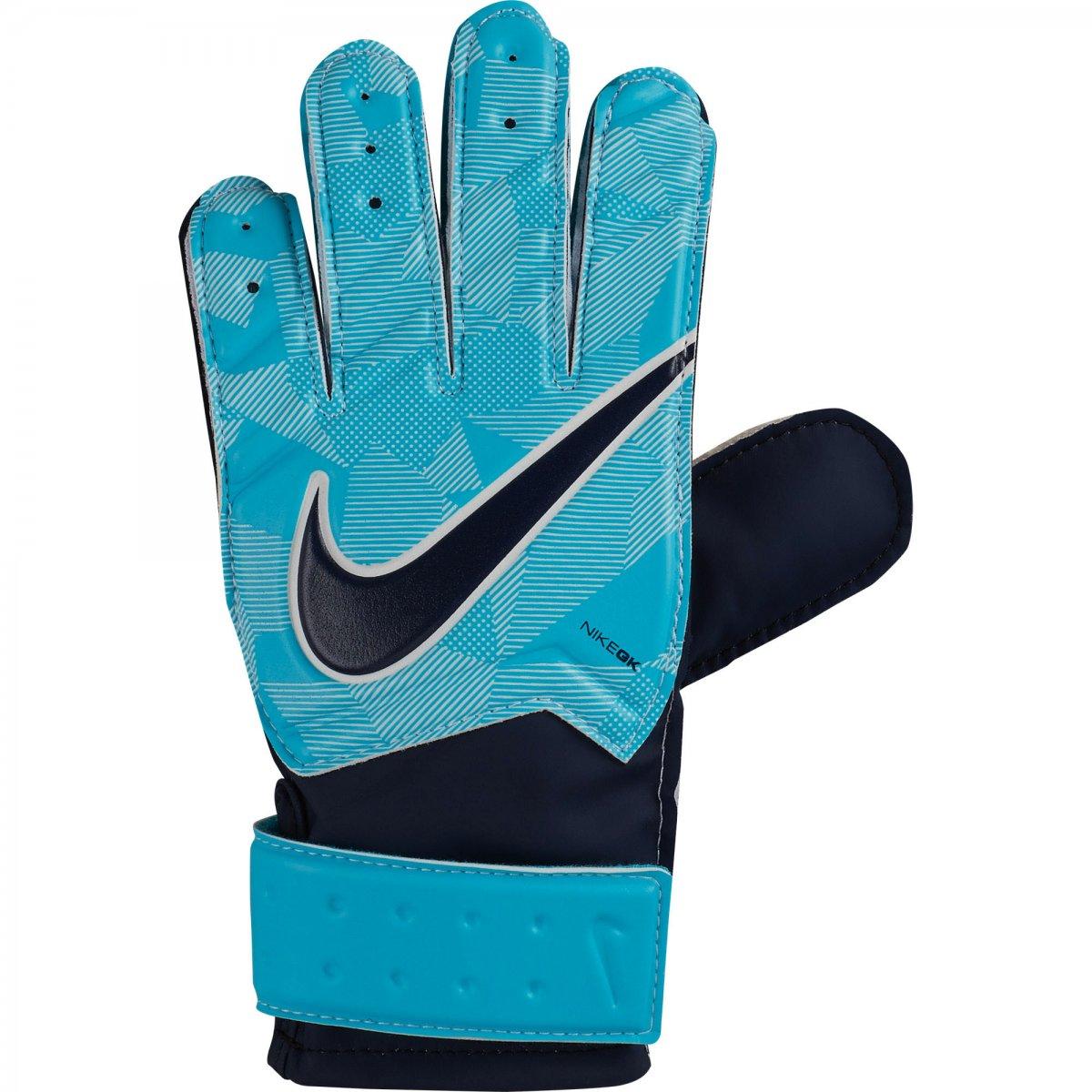 1f514f50a Luva de Goleiro Nike Match Infantil GS0343-414 - Azul - Atitude ...