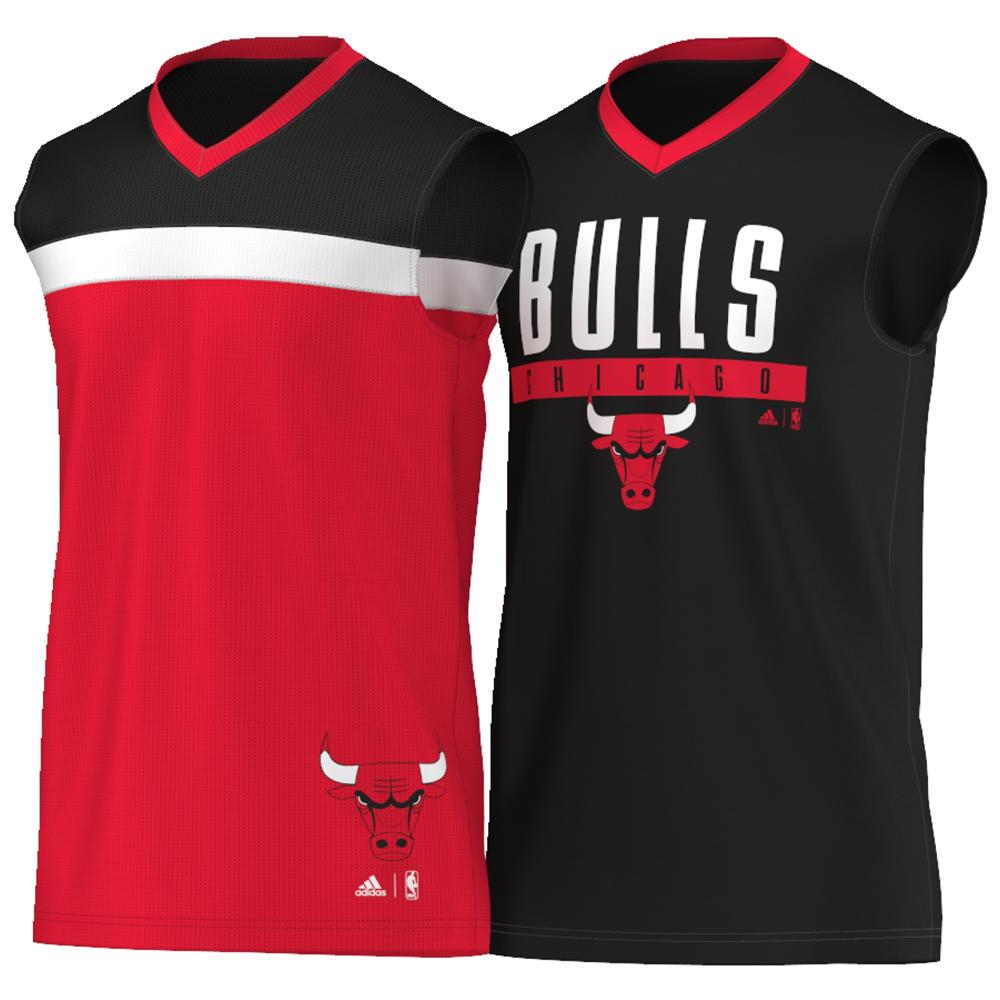 0de60d8e20 Regata Adidas Bulls Dupla-Face Reversível
