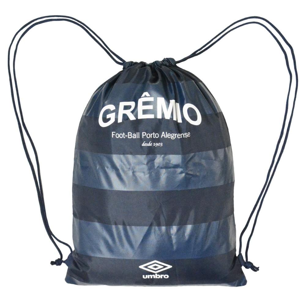 adf44561c1 Sacola Umbro GYM Sack Grêmio 602529 - Azul - Atitude Esportes -As ...