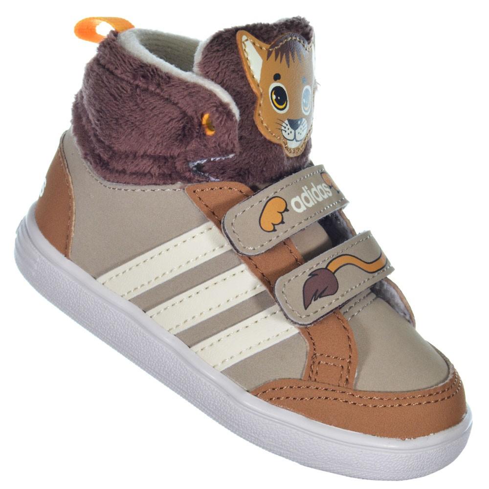 9d6cd0e6a46 Tênis Adidas Animal Mid Infantil