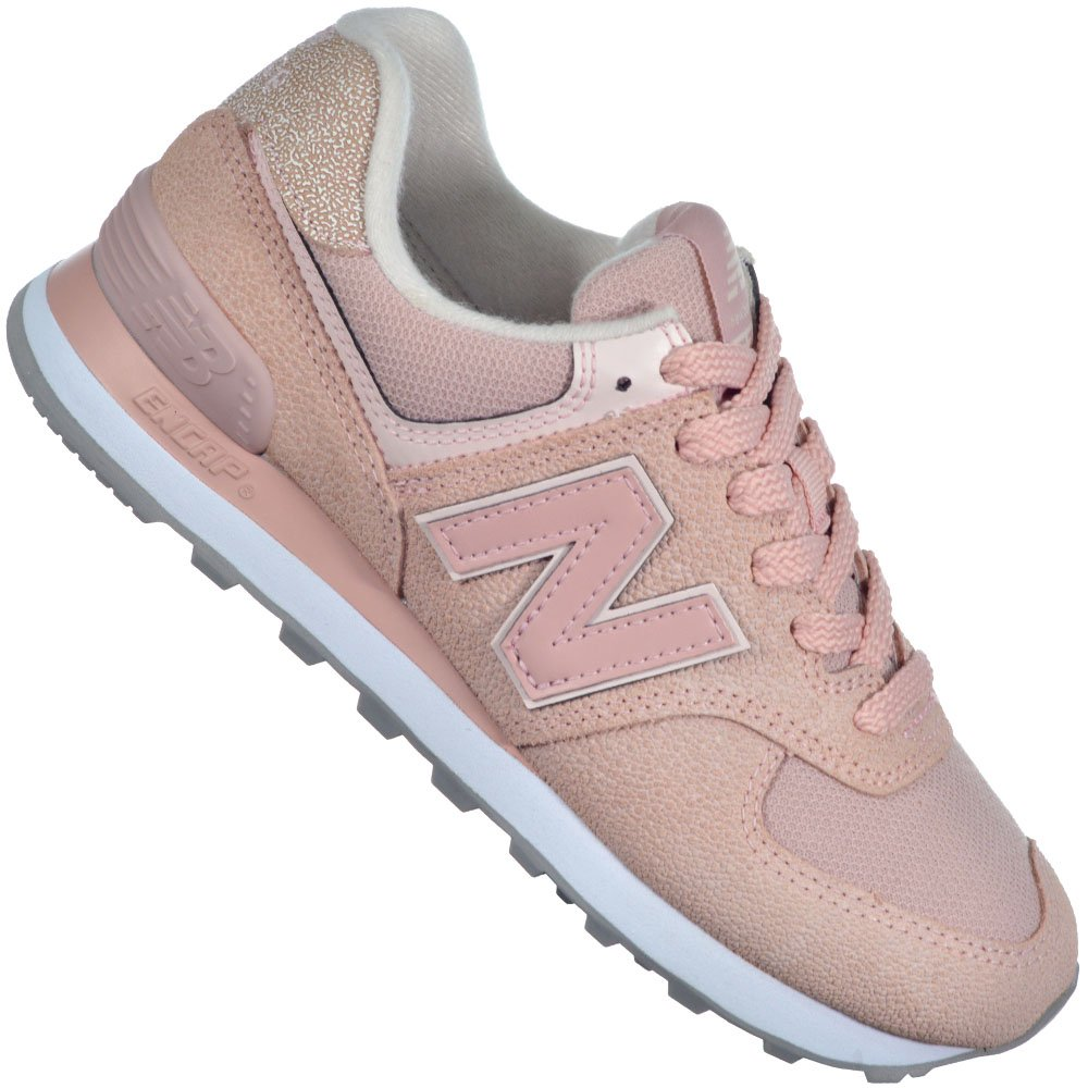 tenis new balance rosa