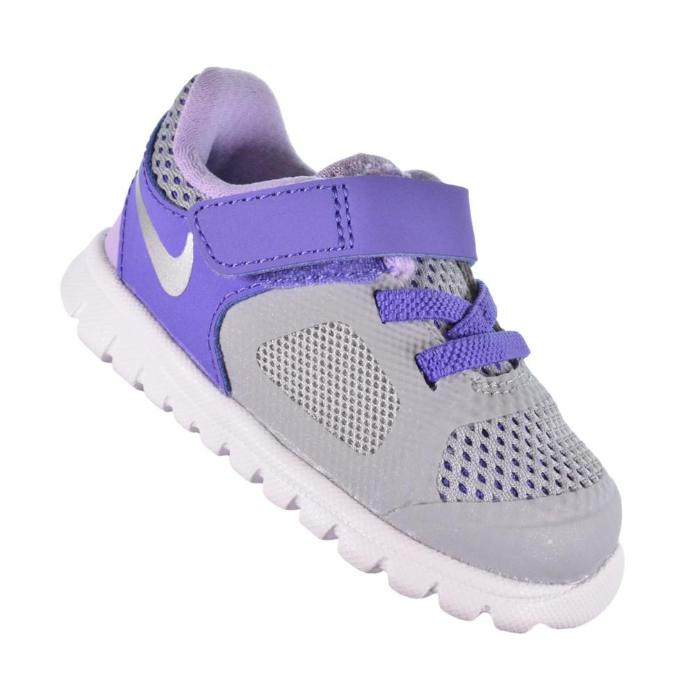 be24c9de45 Tênis Nike Flex 2014 RN (TDV) 642760-003 - Cinza Roxo - Atitude ...