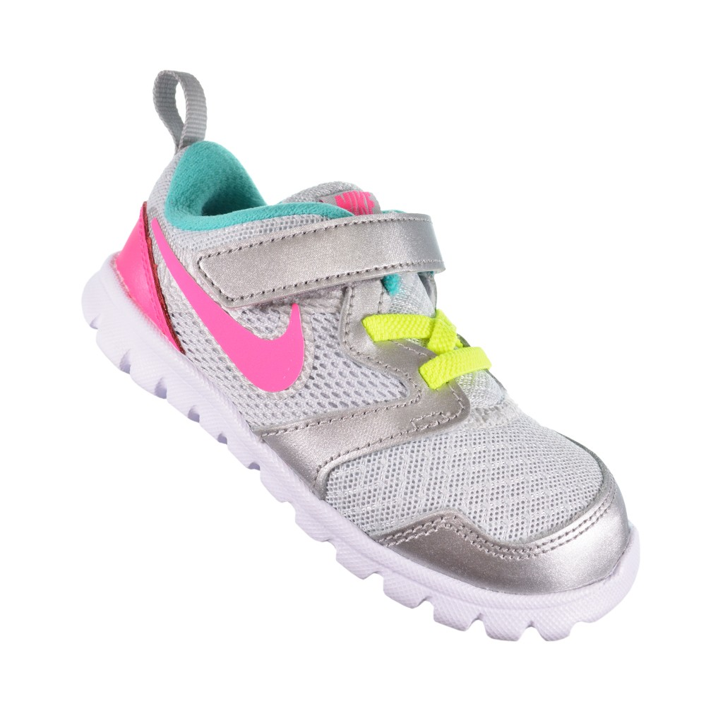 d6bbb52214 Tênis Nike Flex Experience (TDV) 653700-002 - Cinza Rosa - Atitude ...