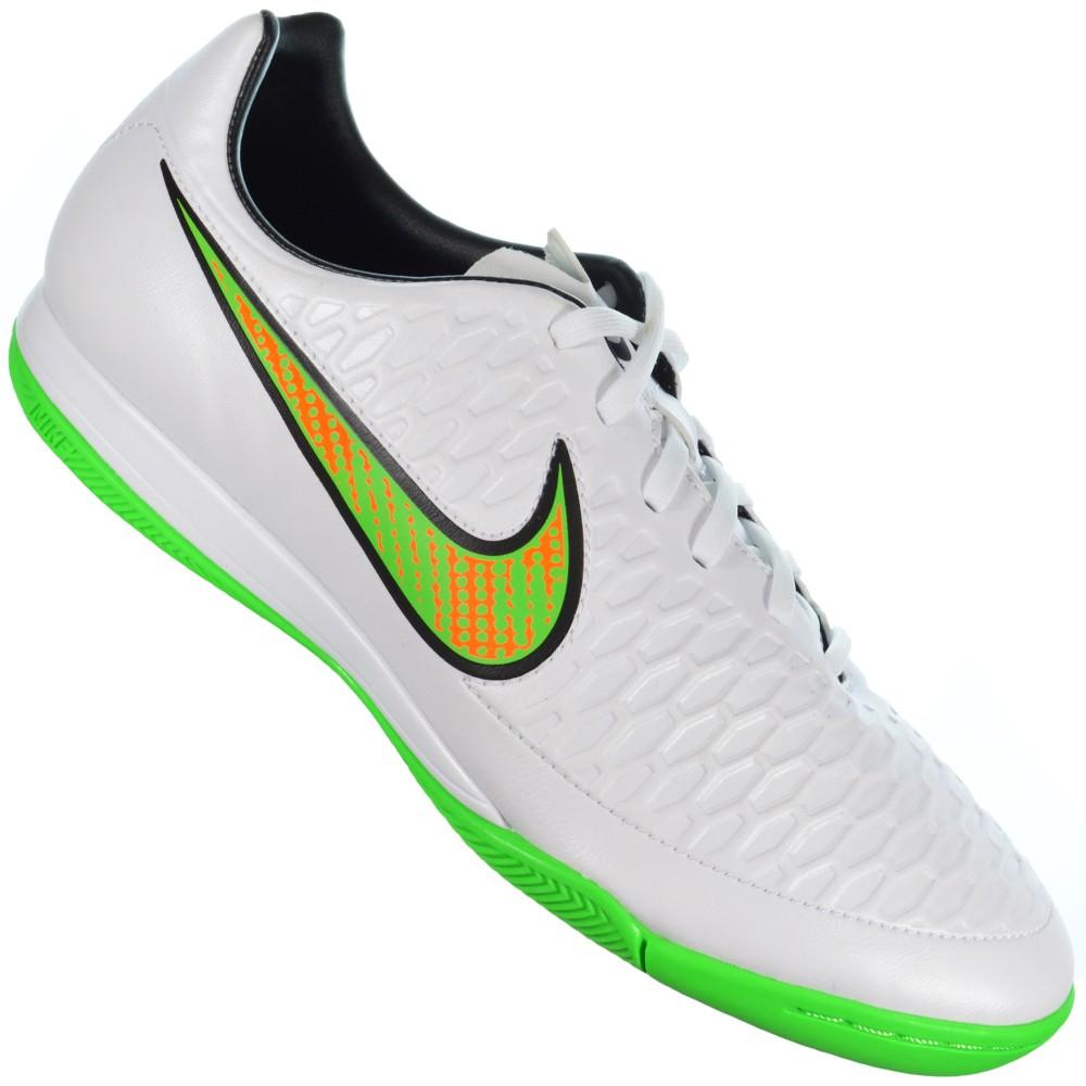 9643097f3d18d Chuteira Nike Magista Onda IC 651541-130 - Branco Verde - Atitude ...