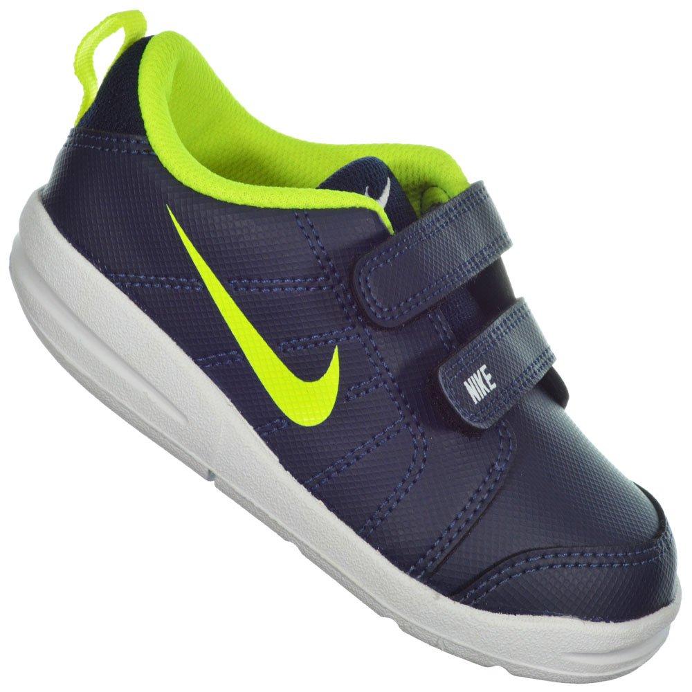 edc9262a71 Tênis Nike Pico LT Infantil 619042-403 - Marinho Verde Limão ...