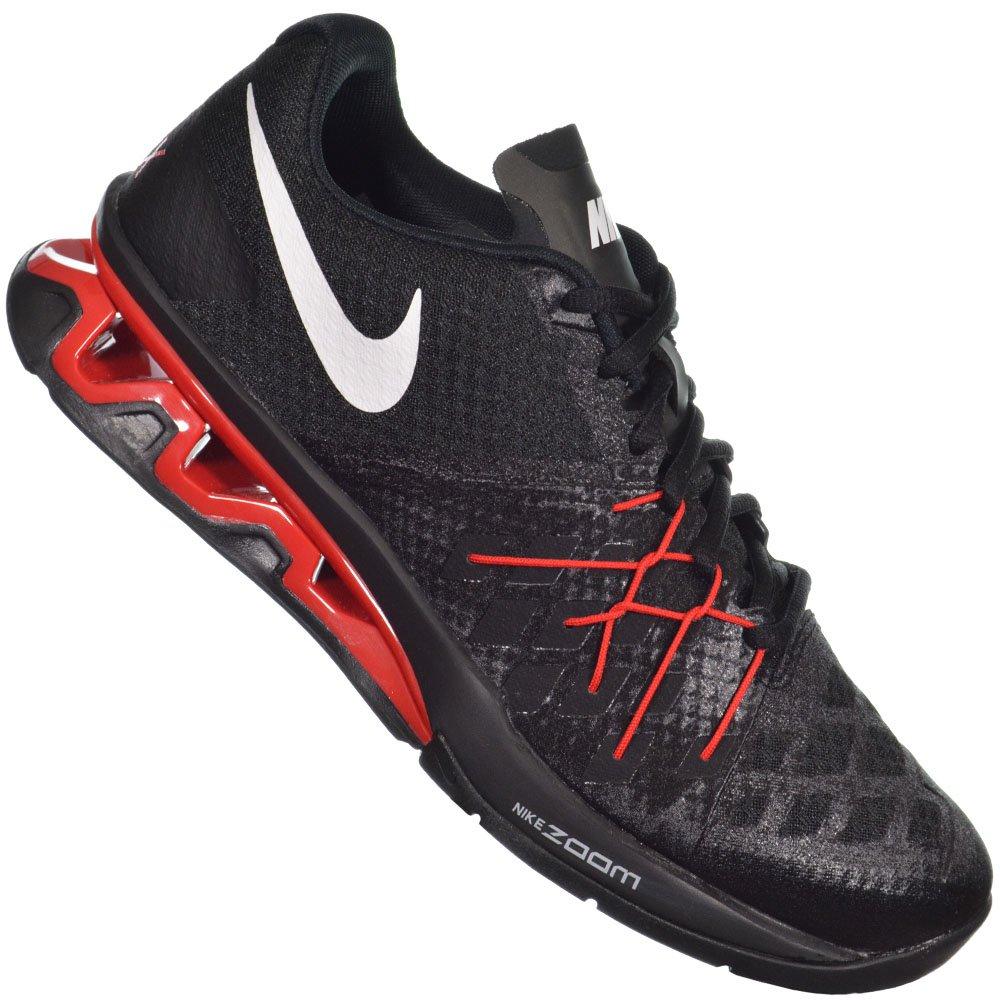 4d2d416c35 Tênis Nike Reax Lightspeed II 852694-006 - Preto Vermelho - Atitude ...