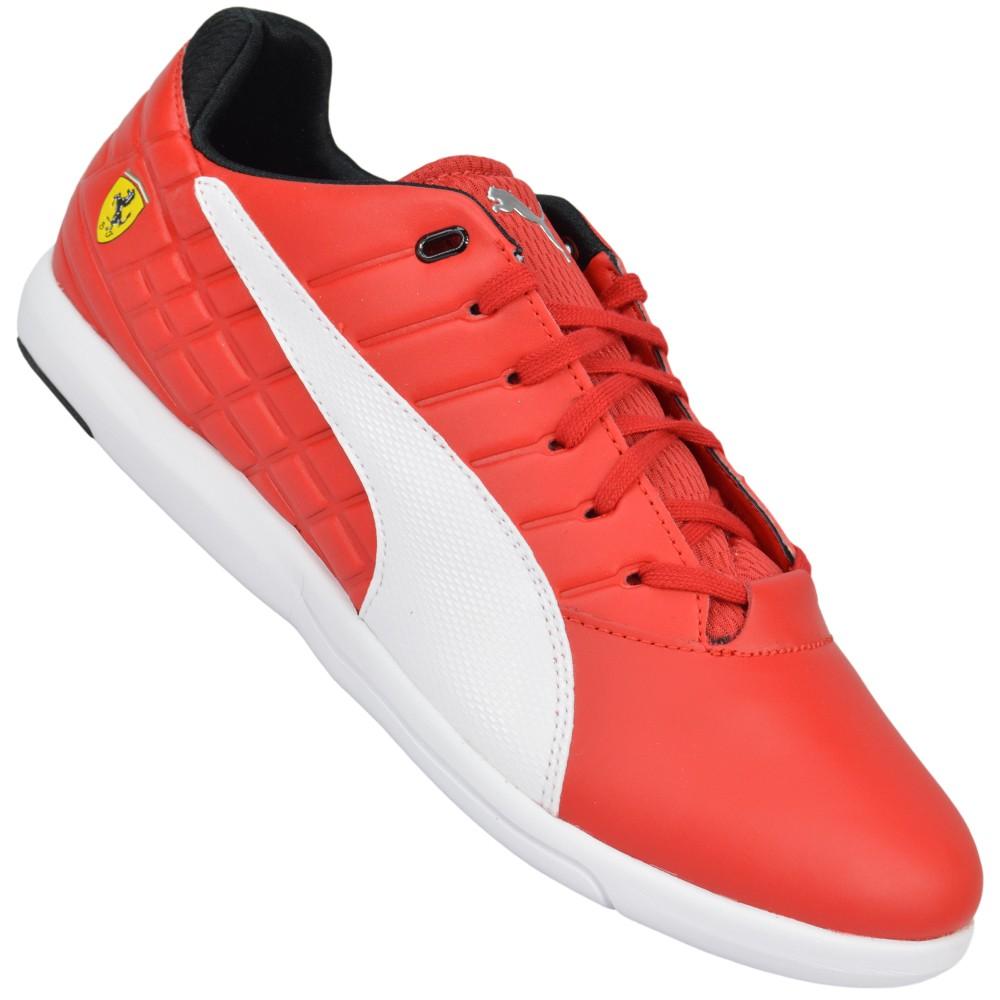 3314494fe86 Tênis Puma Pedale Grip Scuderia Ferrari 305301-01 - Vermelho ...