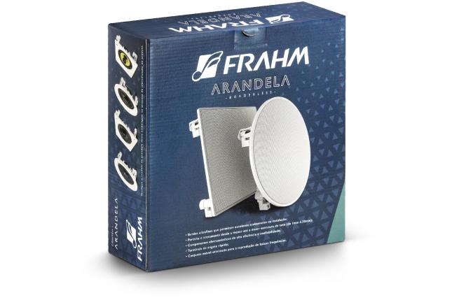 Caixa de Som Arandela Frahm Quadrada 6FR 40W 31832
