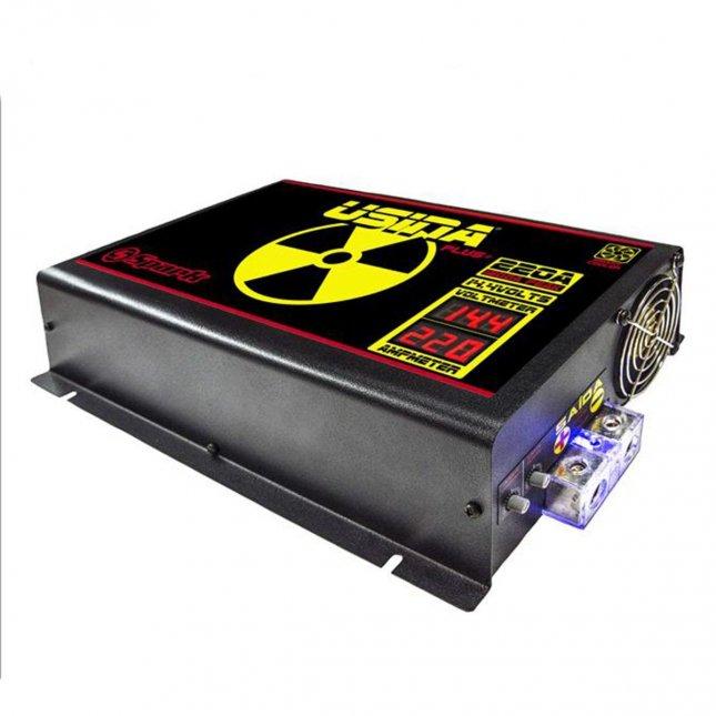 Fonte Automotiva Spark Usina 220 A Plus+ - 220V - Voltímetro e Amperímetro - Smart Cooler