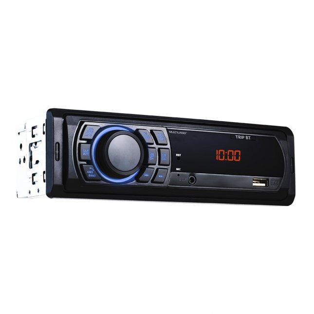 Rádio MP3 Multilaser Trip P3350 e Alto Falante Bomber BBR 6
