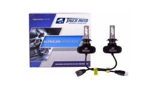 Imagem -  Lâmpadas Ultra Led H7 6000K Tiger Auto 12V e 24V 50W 8000 Lúmens cód: 10120
