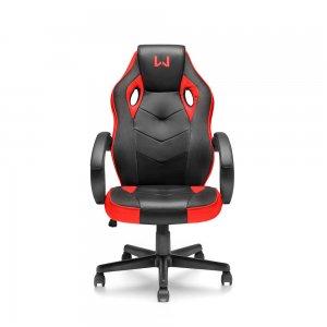 Imagem - Cadeira Gamer Warrior GA162 Preta e Vermelho com Inclinação cód: 10732