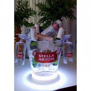 Imagem - Cervejeira com Led STL com taças cód: 10042
