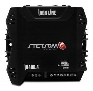 Imagem - Modulo Amplificador Stetsom IR400.4 400 watts 4 canais cód: 10386