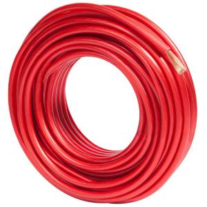 Imagem - Fio Para Som Automotivo Cabo 6 mm² - Permak 100% Cobre  - Vermelho cód: 05320