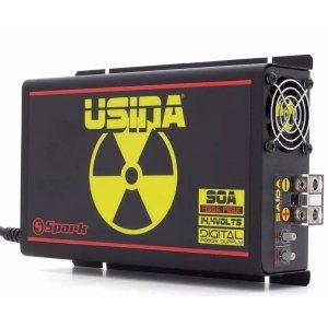 Imagem - Fonte Automotiva Spark Usina 90 A Plus - Bivolt - Medidor de Bateria - Smart Cooler cód: 07555