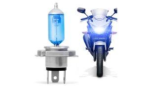 Imagem - Lâmpada Super Branca H4 Moto 35W Tech One 8500k cód: 07071