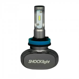 Imagem - Lâmpada Ultra LED Titanium H8 6000k 50W SHOCKLIGHT cód: 10572