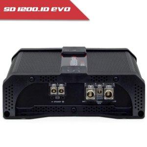 Imagem - Módulo Soundigital SD 1200 EVO II BLACK - 1 Canal – 1200 Watts RMS – 1 Ohm cód: 07719