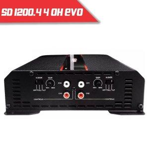 Imagem - Módulo Soundigital SD 1200.4 EVO II BLACK - 4 Canais – 1200 Watts RMS – 4 Ohms cód: 07861
