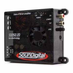 Imagem - Modulo Soundigital SD 250.2 - 2 Canais – 250 Watts RMS cód: 03704
