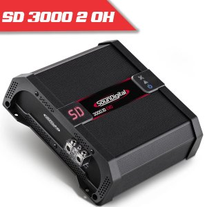 Imagem - Modulo Soundigital SD 3000 EVO IIBLACK - 1 Canal – 3000 Watts RMS – 2 Ohms cód: 07715
