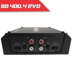 Imagem - Modulo Soundigital SD 400.4 EVO II BLACK - 4 Canais – 400 Watts RMS cód: 06016