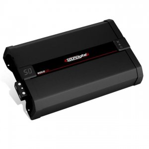 Imagem - Modulo Soundigital SD 8000 EVO IIBLACK - 1 Canal – 8000 Watts RMS – 1 Ohms cód: 07712